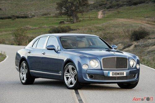 Концерн Bentley предпочитает гибридные автомобили
