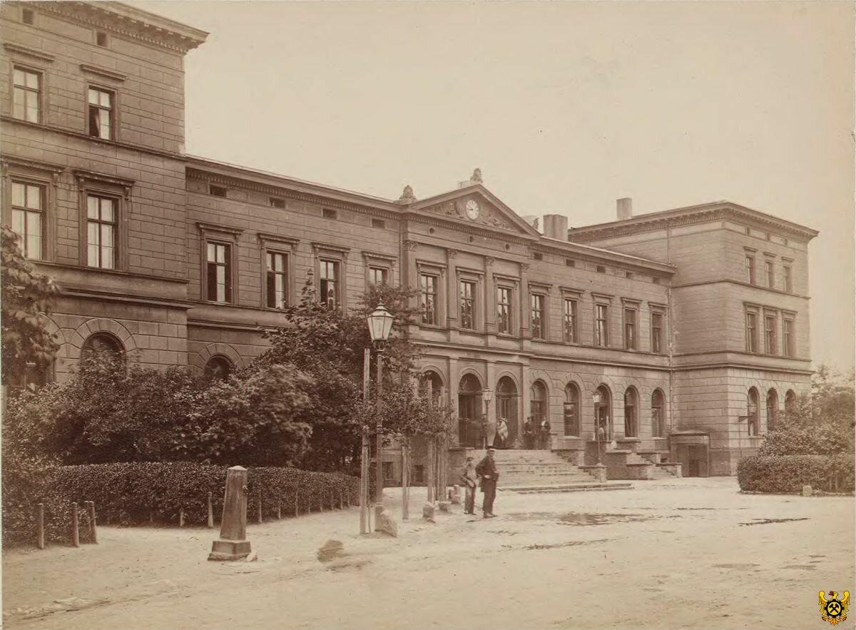 Старый вокзал. 1871