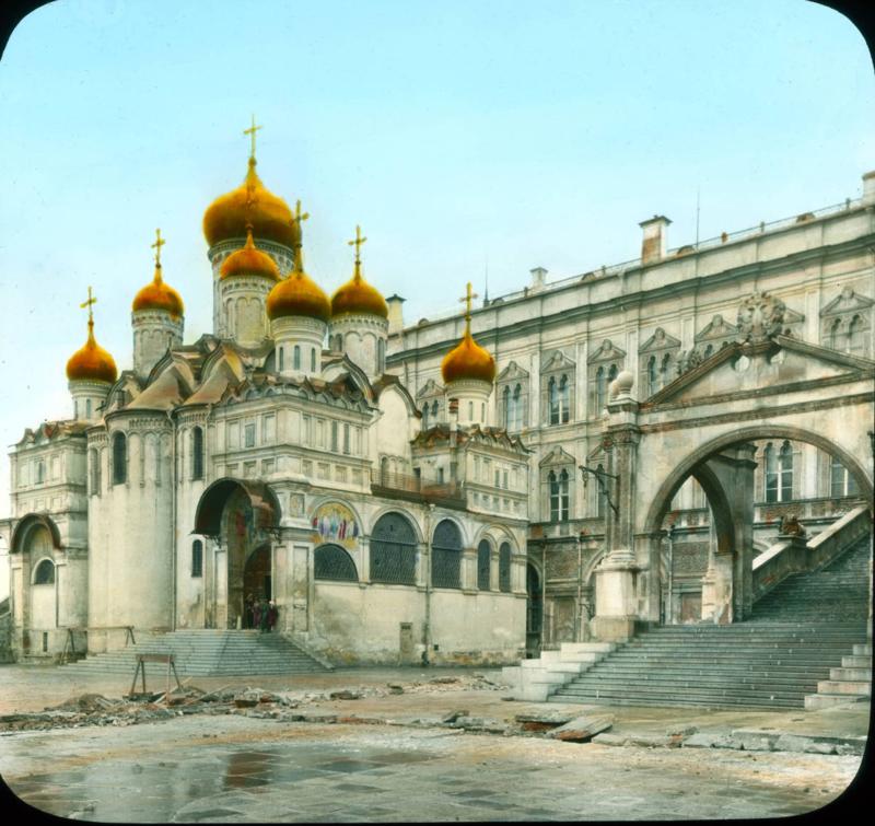 Москва, Кремль. Благовещенский собор