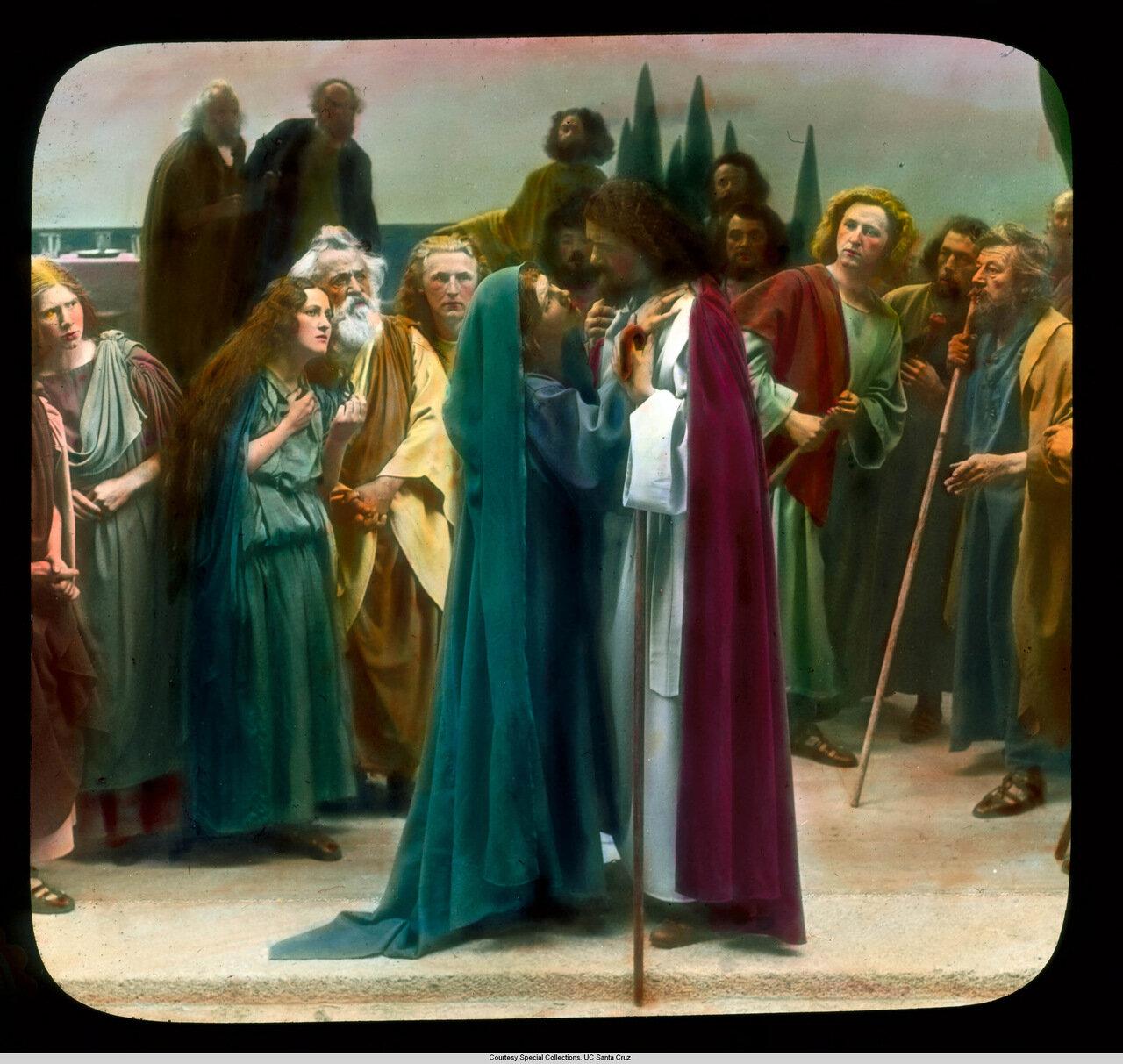 Обераммергау. Страсти Христовы.Прощание с Вифанией