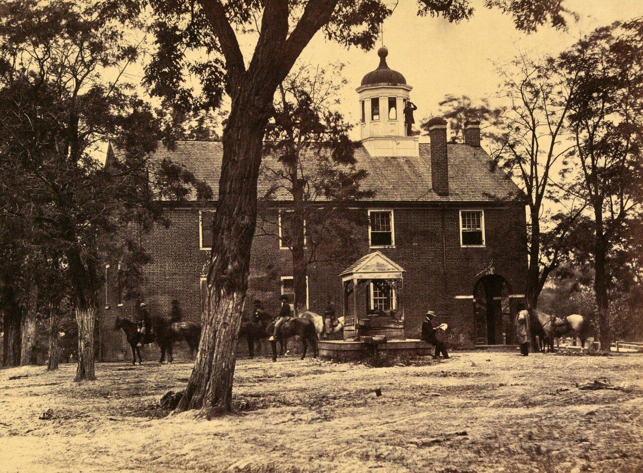 Здание суда в Фэрфаксе, Вирджиния. Июнь 1863 г.