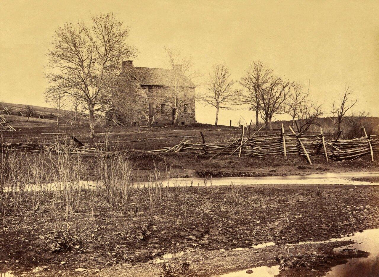 Дом Мэтьюса. Сражение при при Булл-Ране. Вирджиния. Март 1862 г