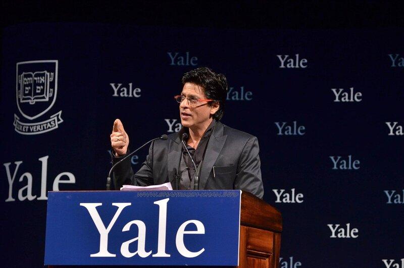 SRK - Yale Conference 2012