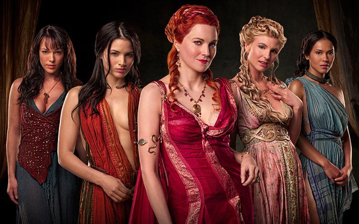 Женщины и девушки из сериала Спартак (Spartacus)