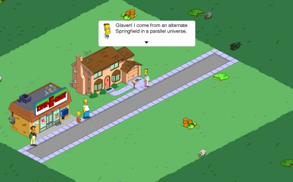 The Simpsons: Tapped Out (Android игры)