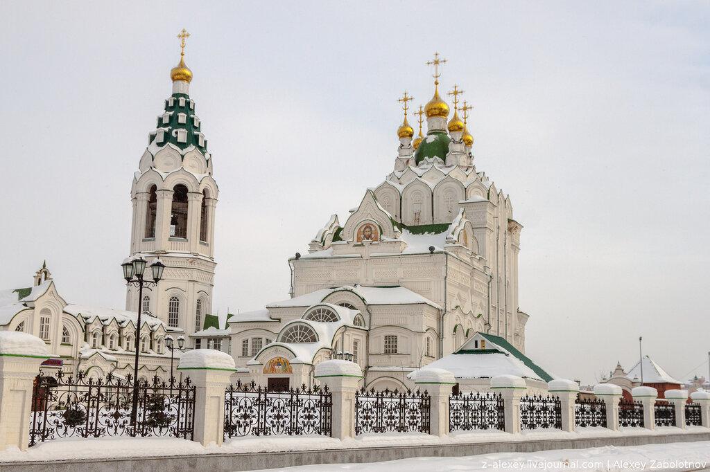 Церковь Пресвятой Троицы, Жилой дом, Собор Воскресения Христова