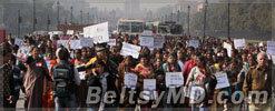В Индии демонстранты требуют смертной казни
