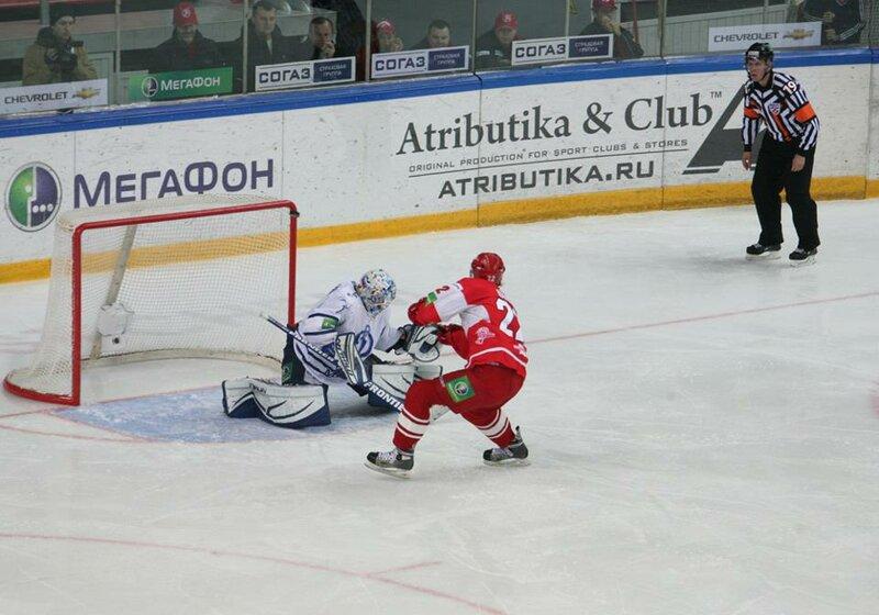 «Спартак» vs «Динамо» 1:3 чемпионат КХЛ 2012-2013 (Фото)