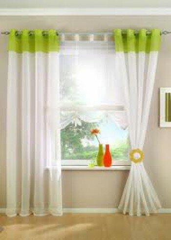 Занавески выше окна