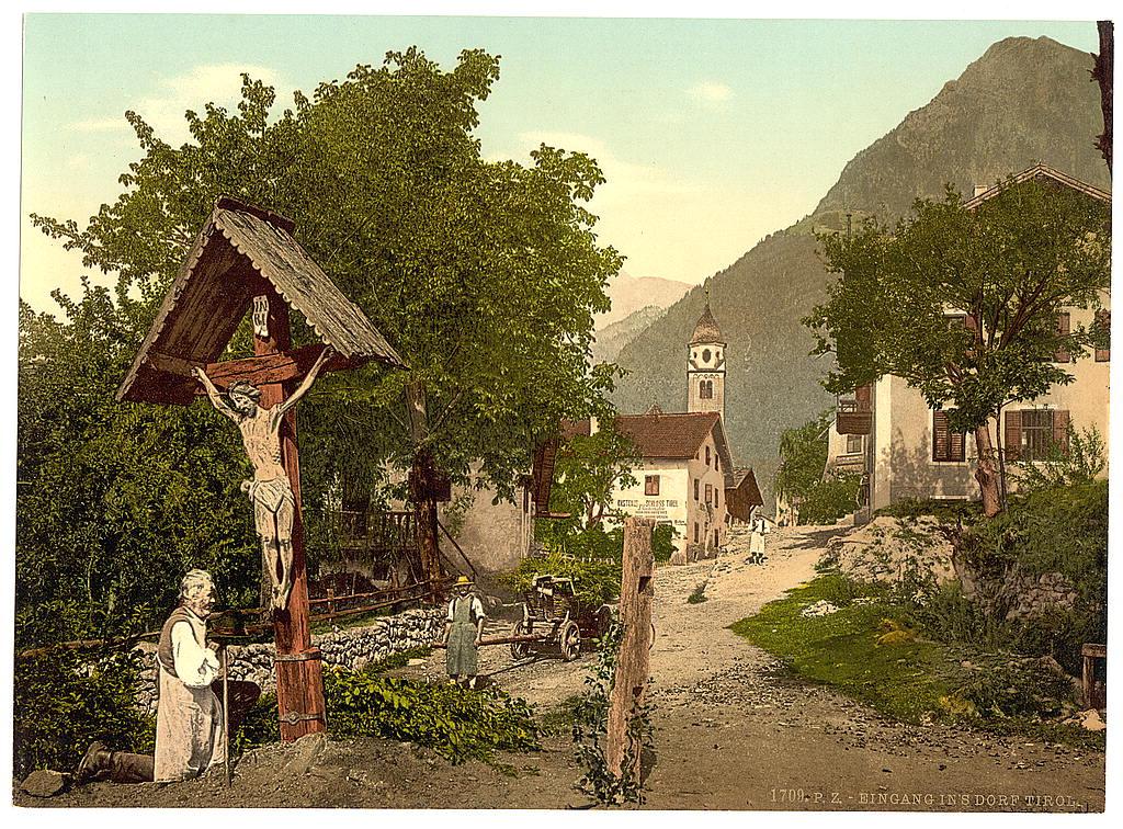 Австрия. Тироль 1890 - 1900 гг 0_80b05_f01c7248_orig