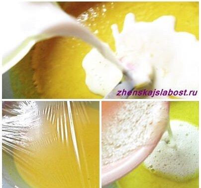 приготовление кукурузных тонких блинов