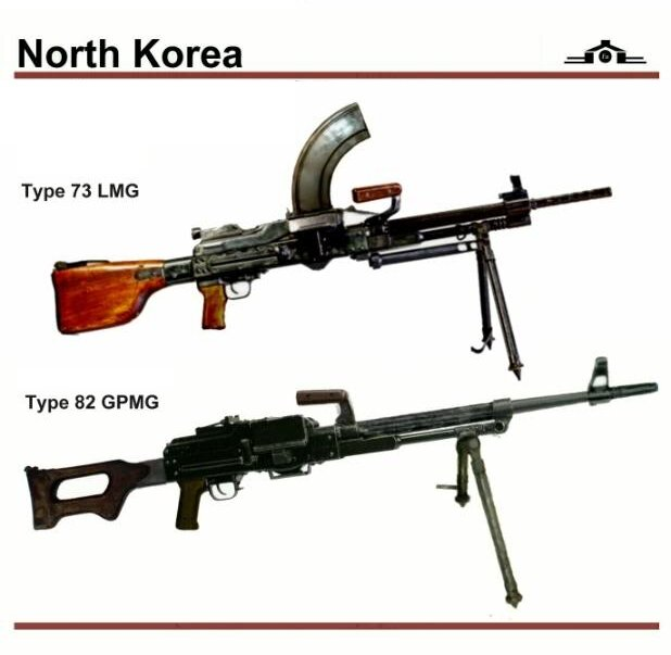korean type 73 machine gun