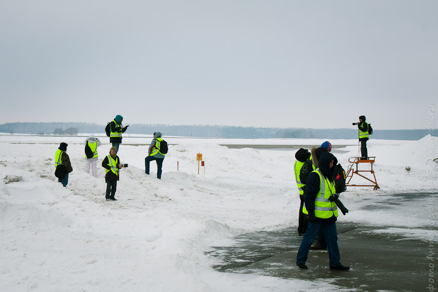 Споттинг в Московском Международном аэропорту Домодедово 7 февраля 2013 года. Фотограф Антон Селянин