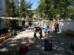Спортивный праздник  «Балаклавиада» в детском саду № 17