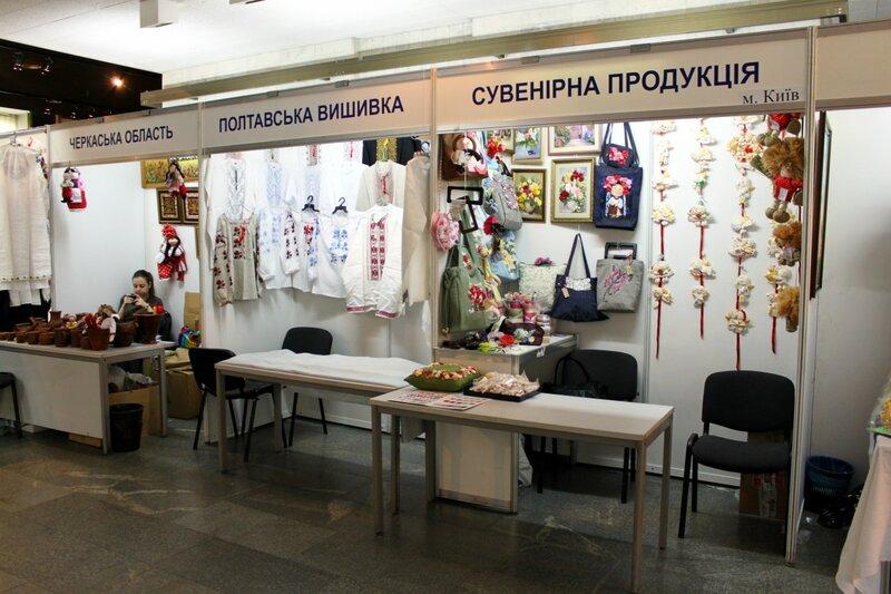 Павильоны Черкасской области и Полтавской вышивки