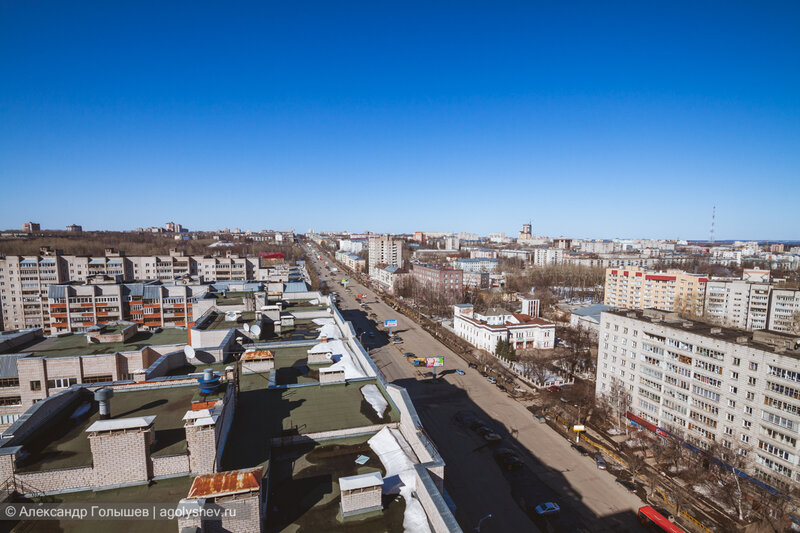 Прогулка по крышам Кирова