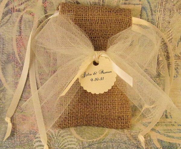 Как преподнести подарок оригинально на юбилей в мешочке из мешковины фото и слова