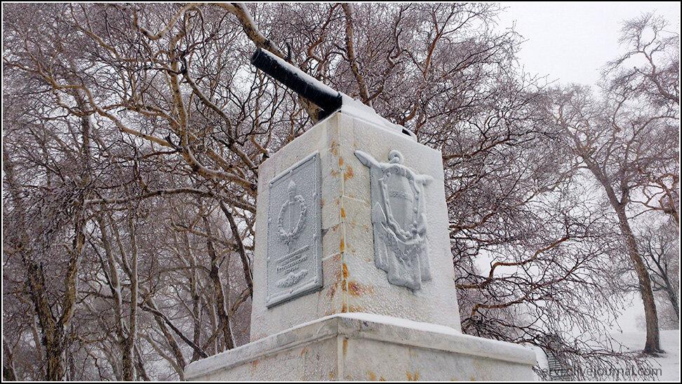 Памятник защитникам Петропавловска на сопке Никольской