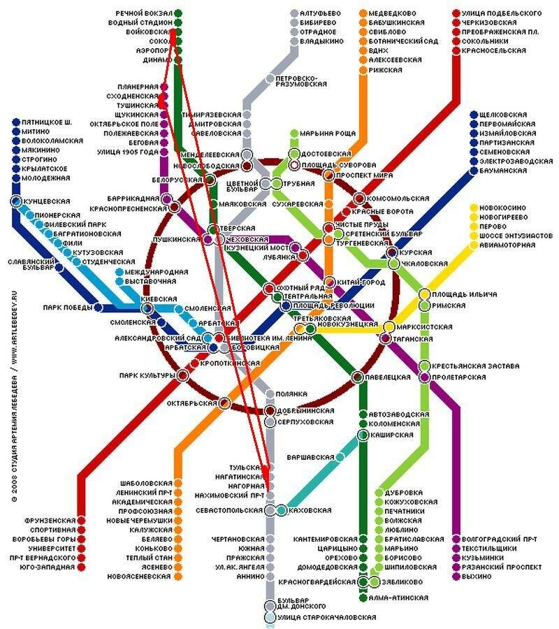 Где находиться ближайшее метро