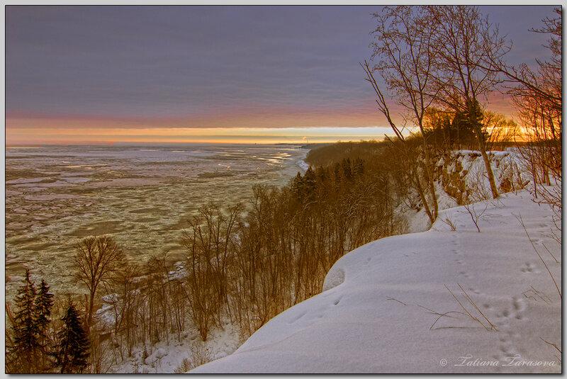 Финский залив. Обрыв.