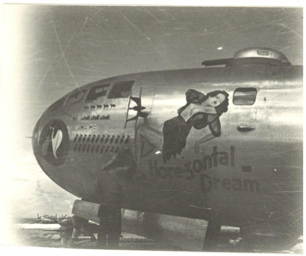 Рисунки на американских бомбардировщиках второй мировой войны