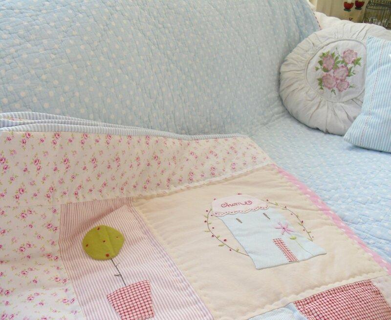 красивое одеяло