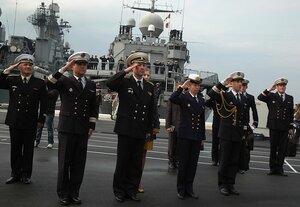 Во Владивосток прибыл фрегат ВМС Франции «Вандемьер»
