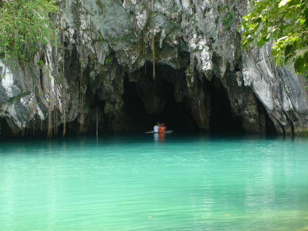 Подземная река Пуэрто-Принсеса. Филиппины