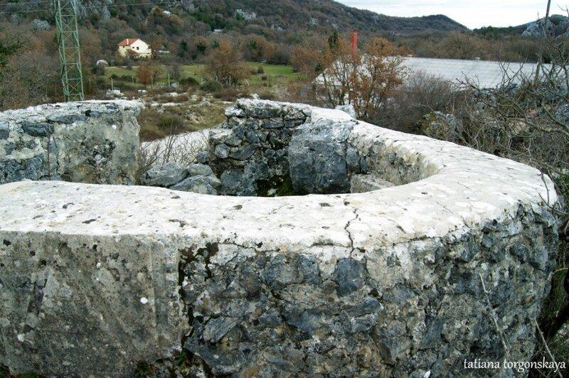 Фрагмент укрепления