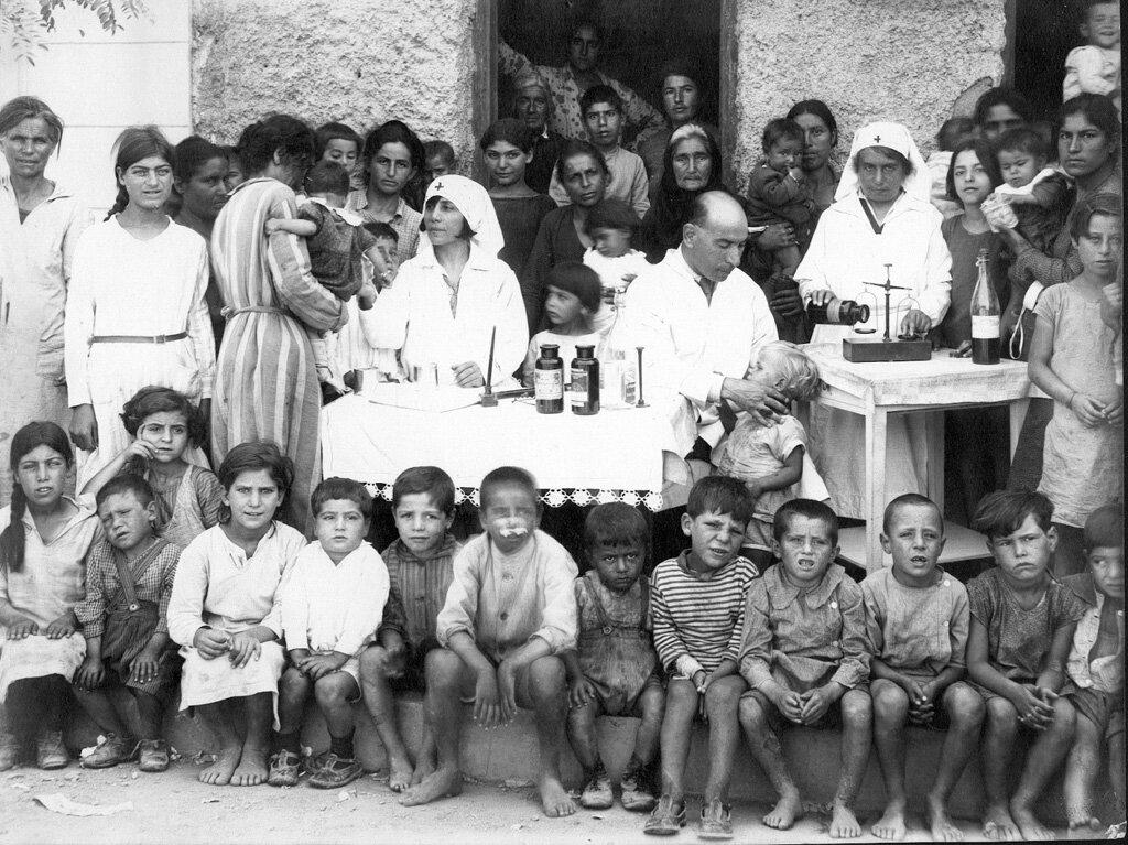 Больница в Сингру-Панграти недалеко от Афин