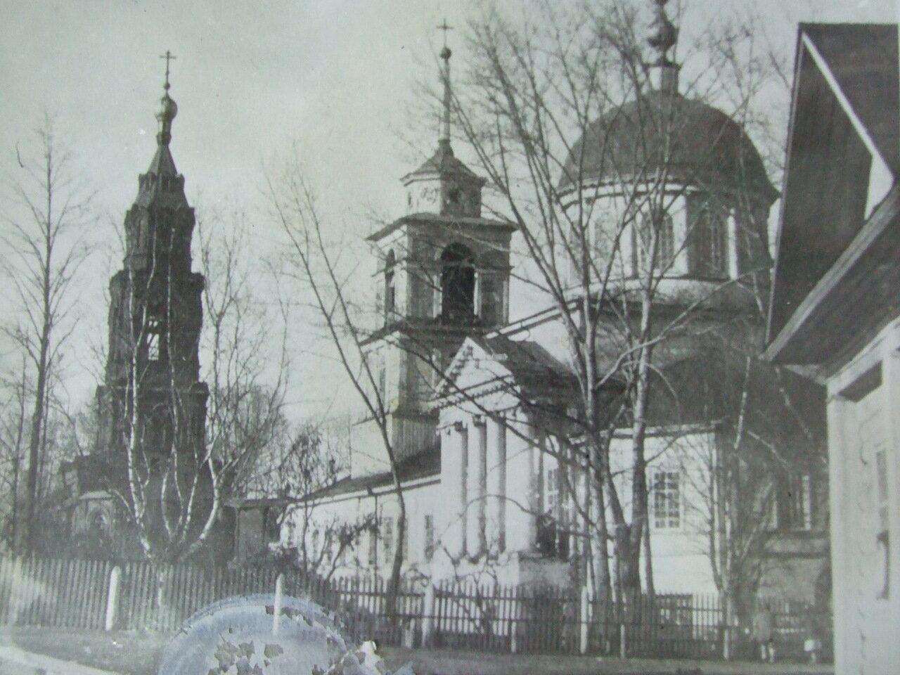 Так выглядела церковь в 20-е годы прошлого века