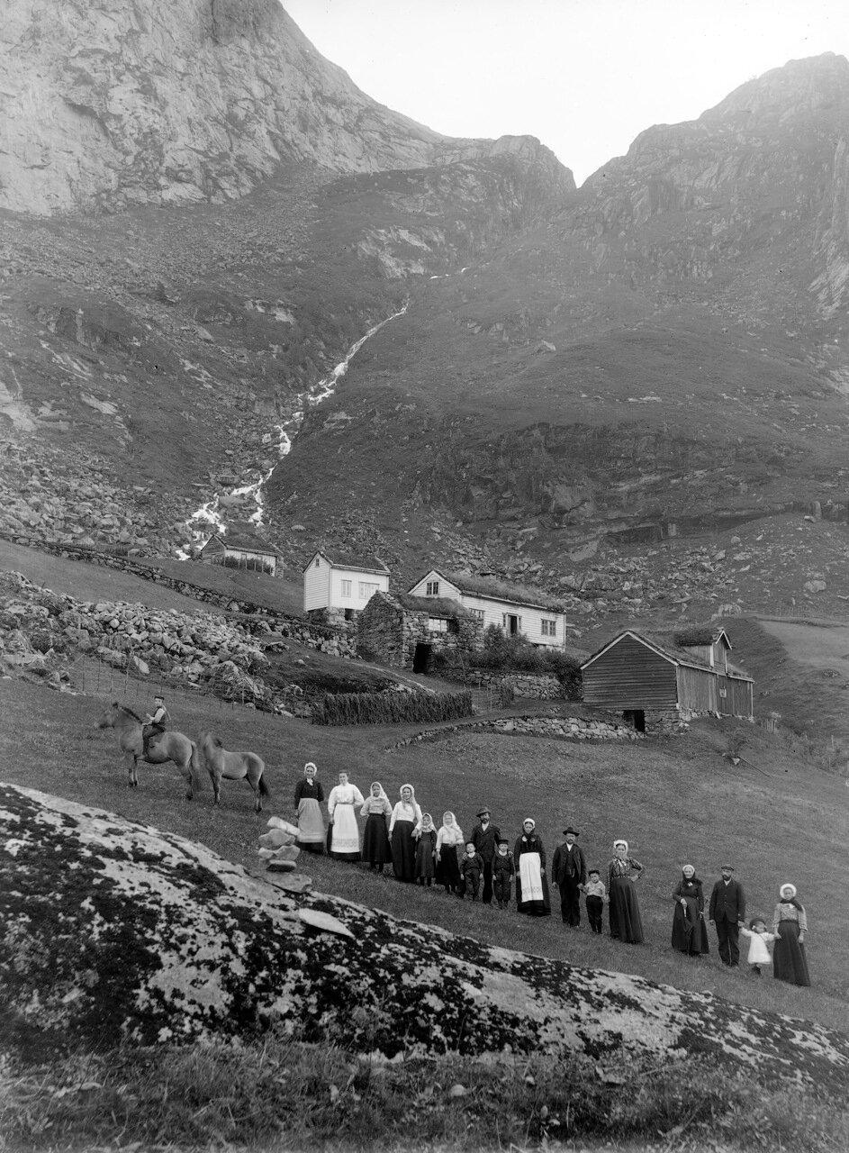 Кловтвейт. Гюлен, ок. 1910 года.