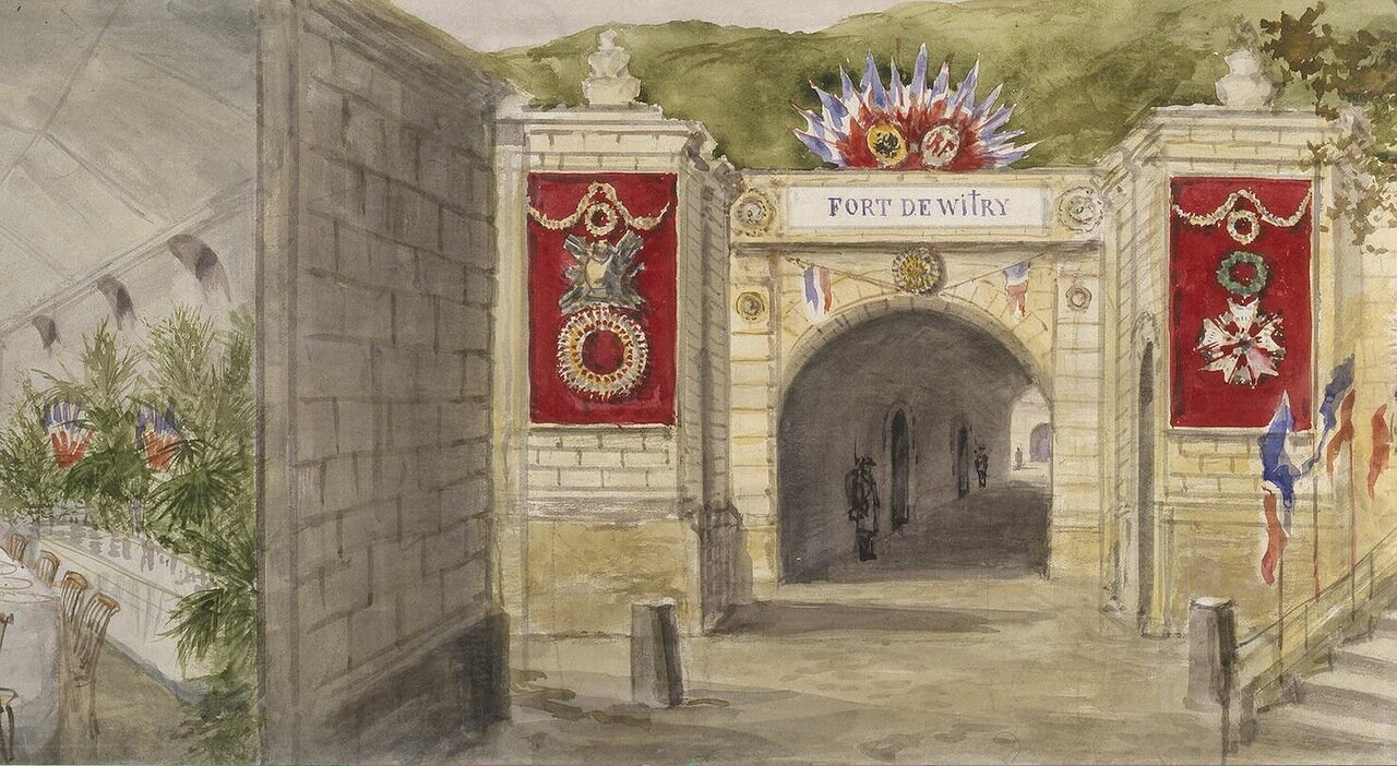 Вход в форт де Витрей