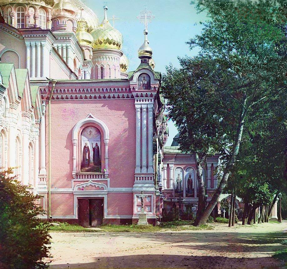 Богоявленский женский монастырь. Кострома. 1910.