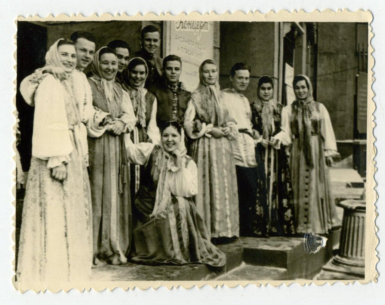 Уральский хор. 60-е