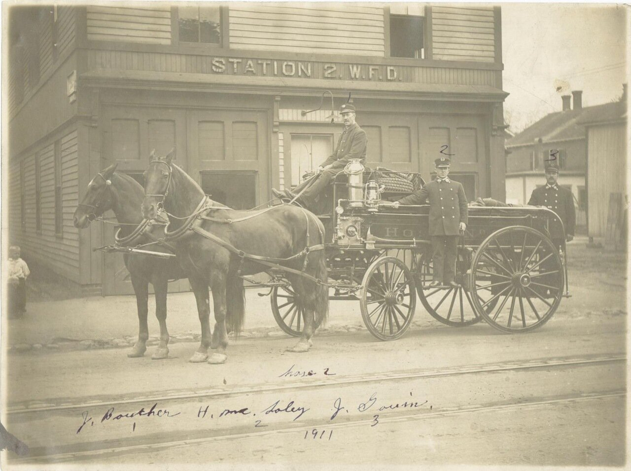 1911. Пожарный пункт №2