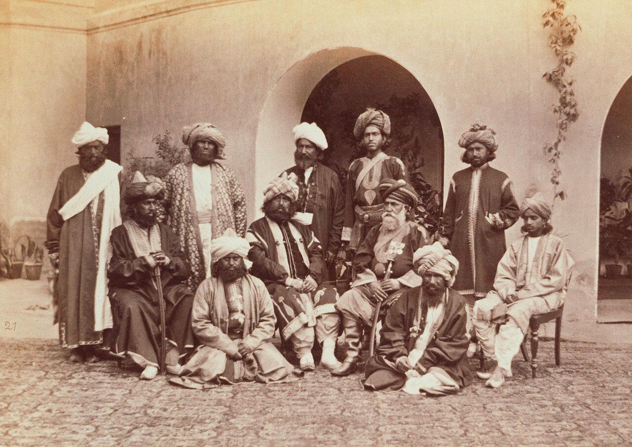 Пуштунские вожди