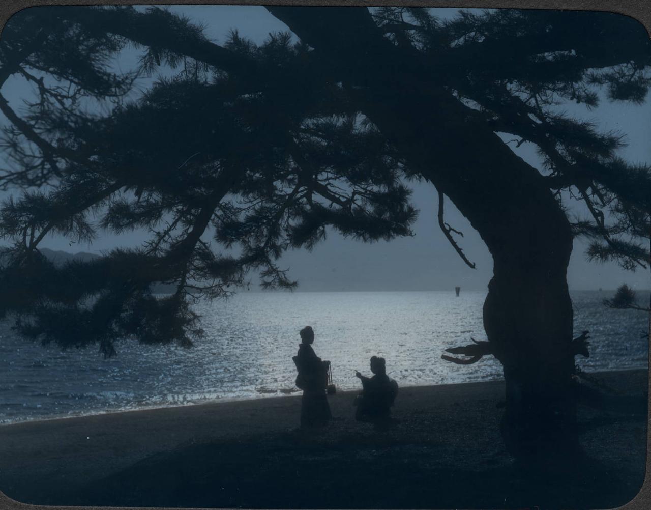 Окрестости Кобе. Пляж Майко