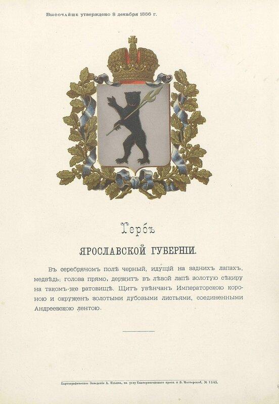 Ярославская губерния 1880 год