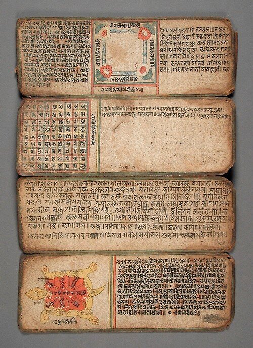 Book of Astrology and Omens Nepal, 14th-16th century