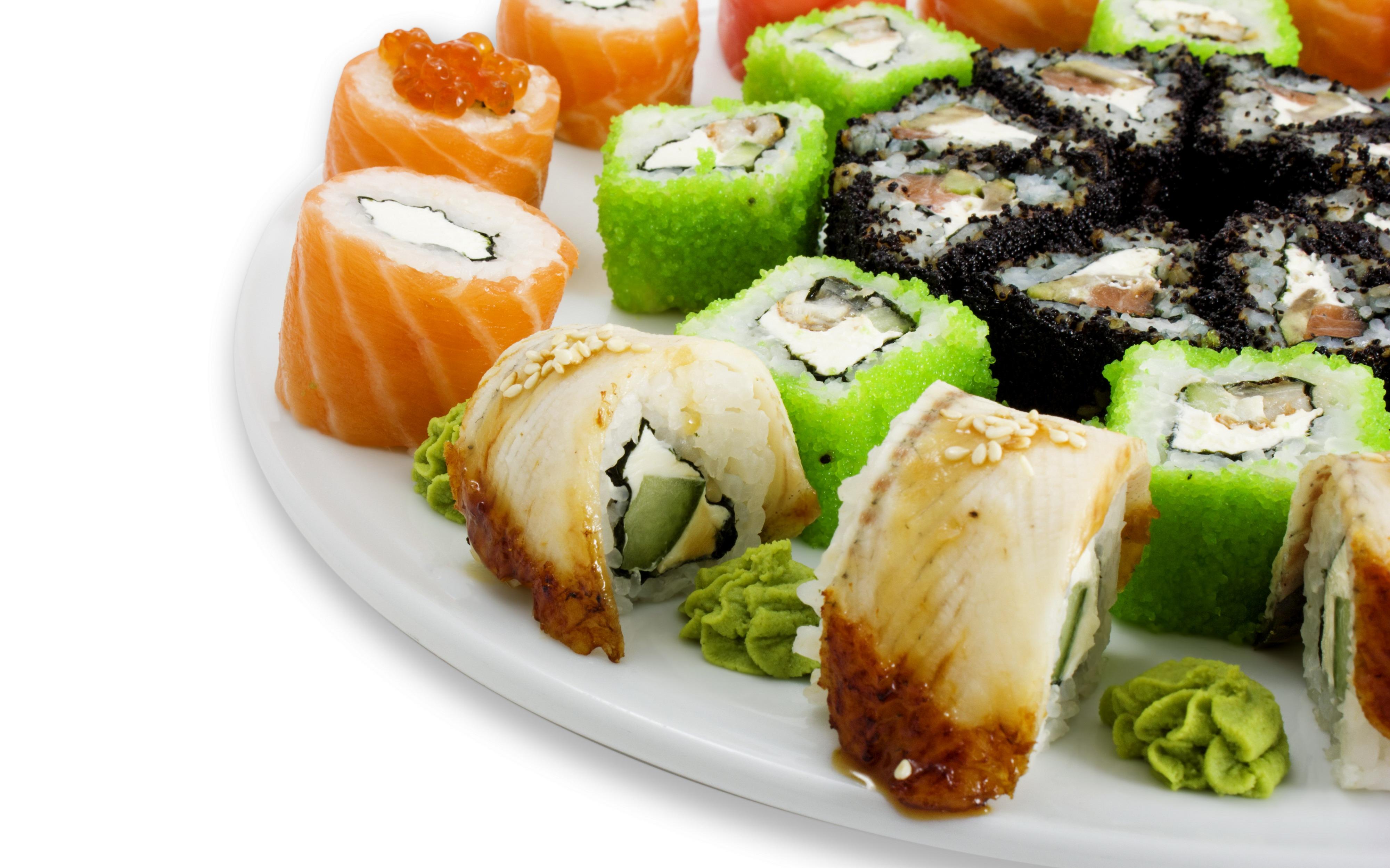 еда суши роллы вассаби япония бесплатно