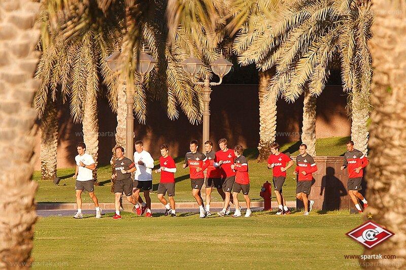 Заключительный день сбора «Спартака» в Абу-Даби (Фото)