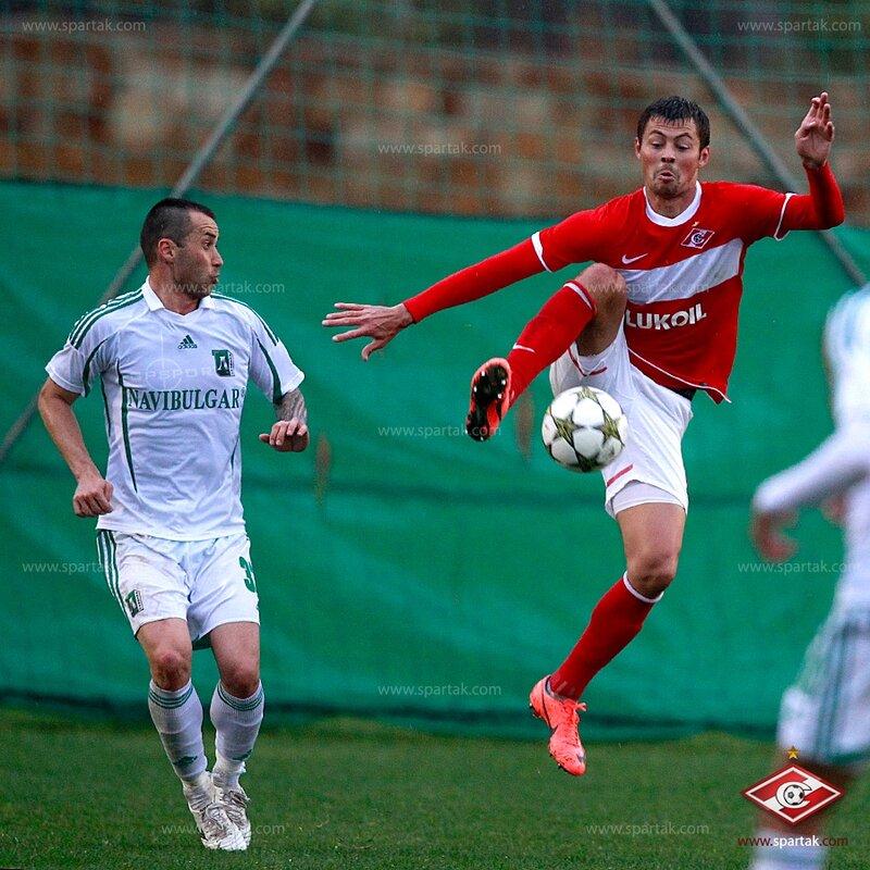 «Спартак» vs «Лудогорец» 1:2 контрольный матч 2013 (Фото)