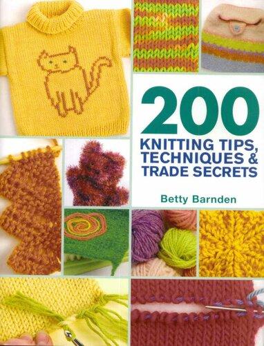Knitting Tips And Trade Secrets : Книга knitting tips techniques trade secrets