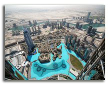 ОАЭ. Дубаи. Aerial view of Dubai (United Arab Emirates). Фото Daniel Leppens - shutterstock