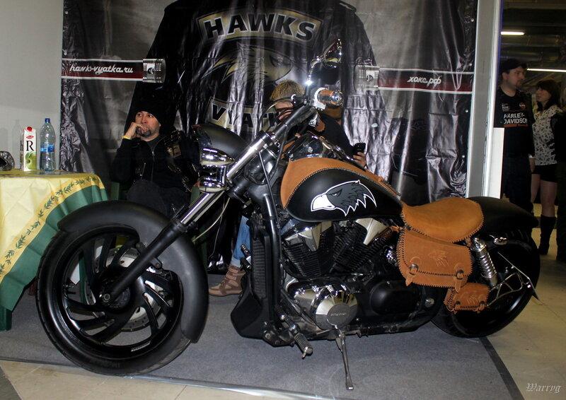 Байк мотоклуба «Hawks Vyatka»