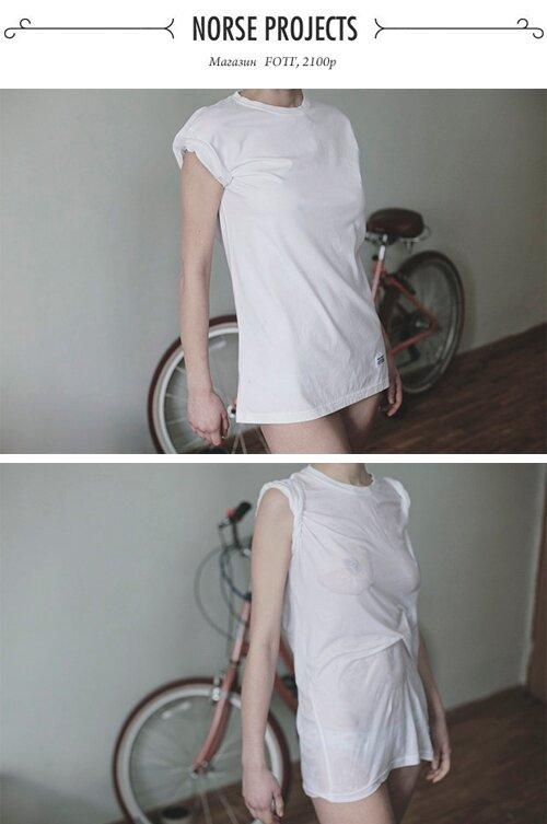 Тест промокаемости белых футболок