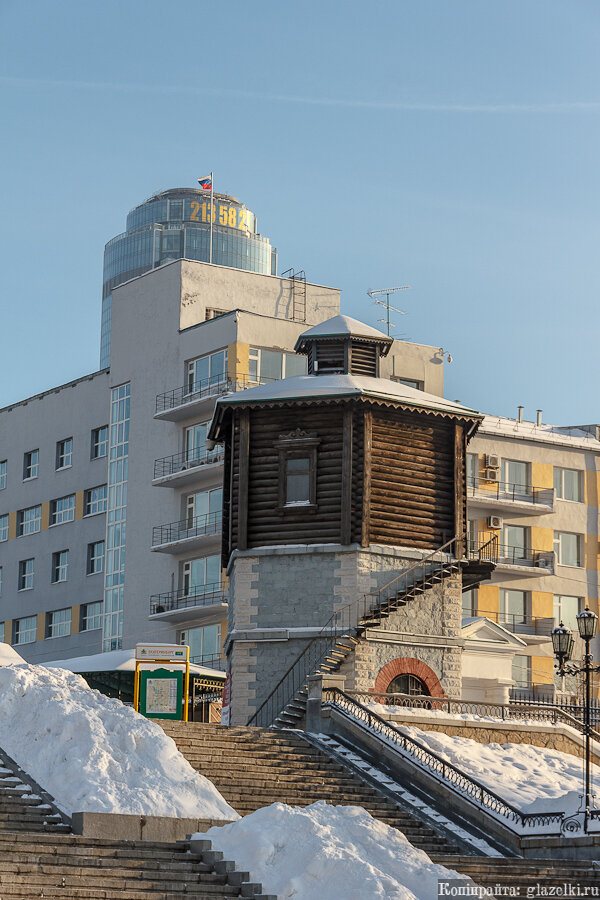 Екатеринбург. Водонапорная башня.
