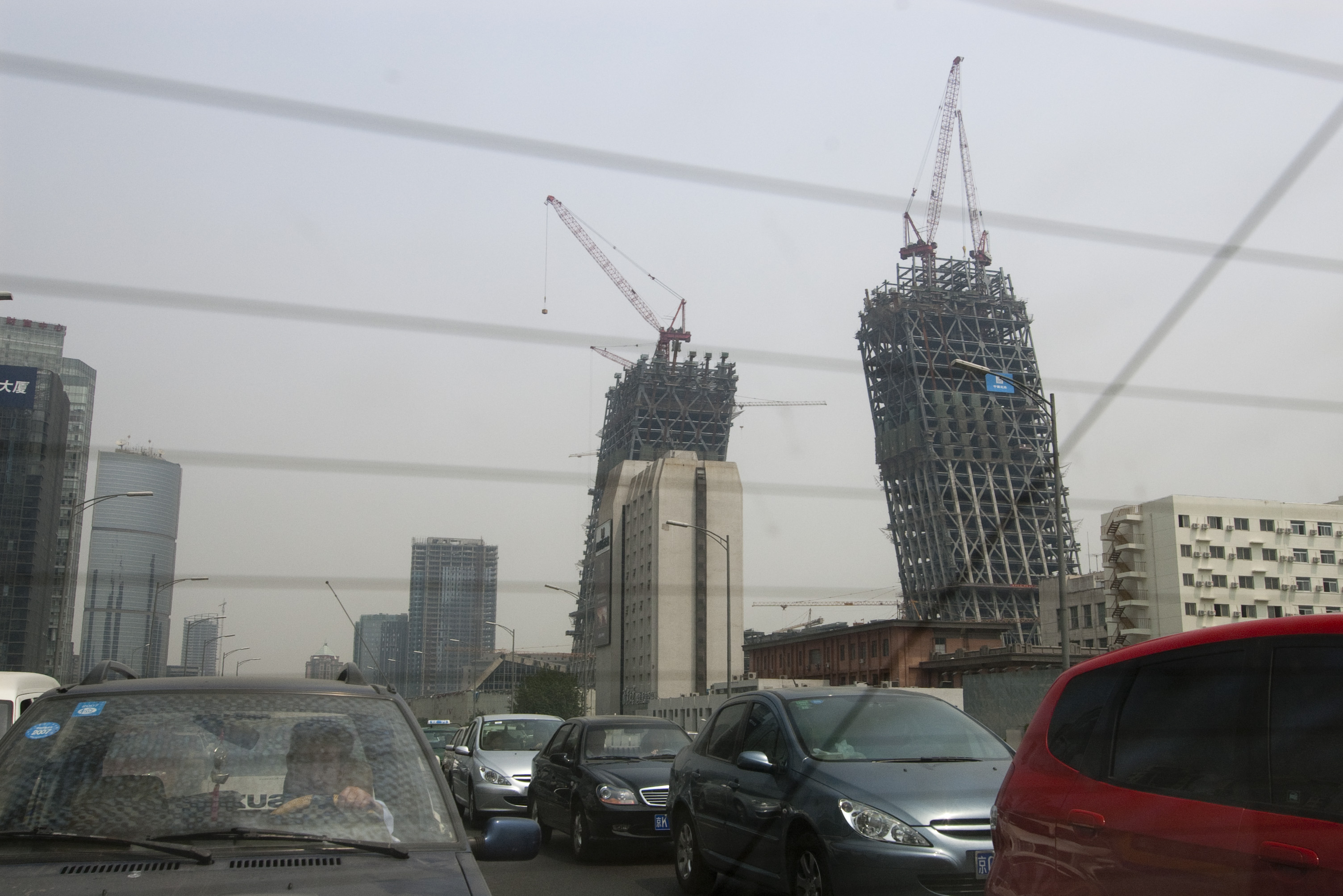 CCTV Headquarters construction