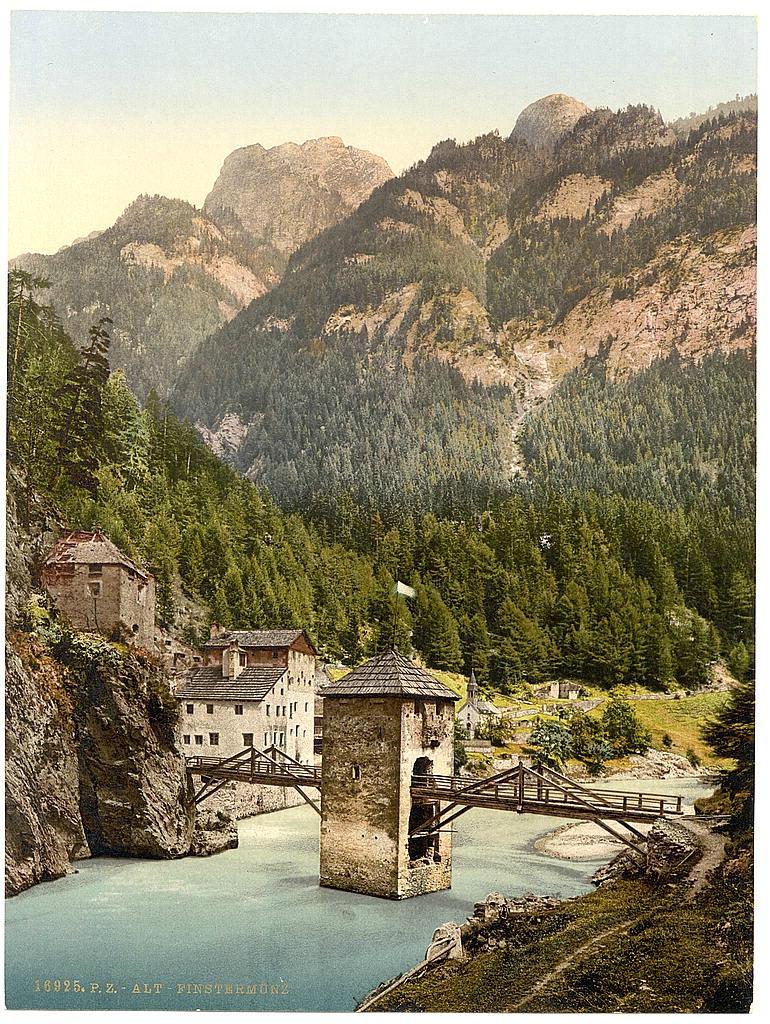 Австрия. Тироль 1890 - 1900 гг 0_80af3_ca9febcc_orig
